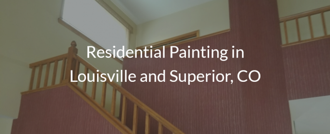 residential painting louisvile superior