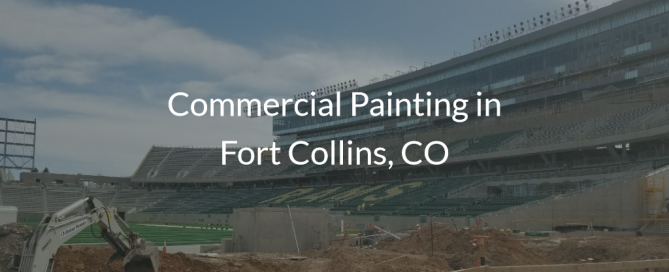 CSU football commercial painting fort collins