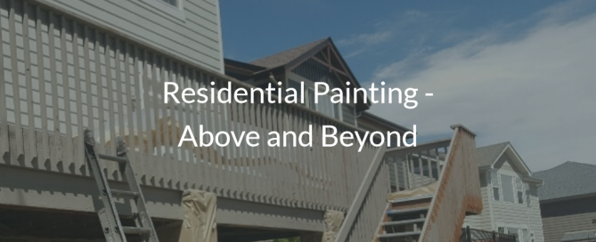 painting colorado residential above and beyond